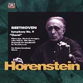 Legends - Beethoven: Symphony no 9 / Horenstein, Lipp, et al