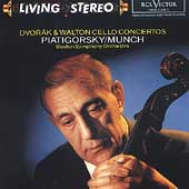 Living Stereo - Dvor&aacute;k, Walton: Cello Concertos /Piatigorsky