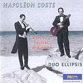 Coste: Works for guitar and oboe / Duo Ellipsis