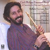 C.P.E. Bach: 3 Concertos for Flute / Trevisani, Orbelian