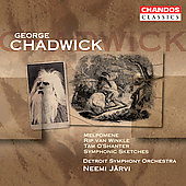 Classics - Chadwick: Symphonic Sketches, etc / J&auml;rvi, et al