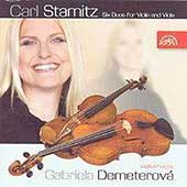 Stamitz: Six Duos for Violin and Viola / Gabriela Demeterov