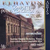 Haydn: Complete Piano Concertos Vol 3 / Palumbo, Theis