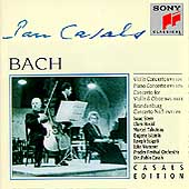Casals Edition - Bach: Concertos