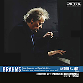 Brahms: Piano Concertos, Piano Solo Works / Anton Kuerti, Joseph Rescigno, et al