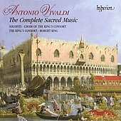 Vivaldi: The Complete Sacred Music / King, King's Consort