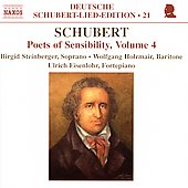 Deutsche Schubert-Lied-Edition 21 - Poets of Sensiblity 4