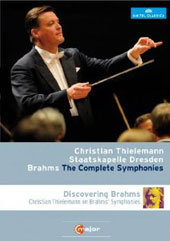 Johannes Brahms: The Complete Symphonies; Discovering Brahms - Thielemann on Brahms' Symphonies / Staatskapelle Dresden [2 Blu-Ray]