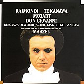 Mozart: Don Giovanni / Maazel, Raimondi, Te Kanawa, et al