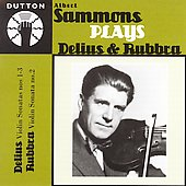 Sammons Plays Delius & Rubbra