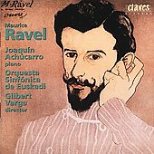 Ravel / Gilbert Varga, Joaquin Ach&uacute;carro, Euskadi SO