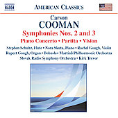 Cooman: Symphonies no 2 & 3, Piano Concerto, Partita, etc