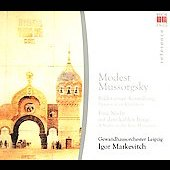 Mussorgsky: Pictures at an Exhibition, etc / Markevitch