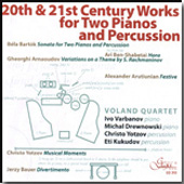 20th & 21st Century Works for Two Pianos & Percussion