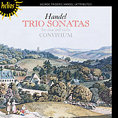 Handel: Trio Sonatas for Oboe and Violin / Convivium