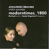 Brahms: Violin Sonatas / Korol, Grigorieva