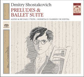 Shostakovich: Preludes, Ballet Suite / Alexi Utkin, Mikhail Utkin, Hermitage Chamber Orchestra