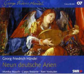Handel: Neun deutsche Arien;  Mattheson: German Arias / Mauch, Voskuilien, L'Arpa Festante