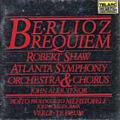 Classics - Berlioz: Requiem;  Bo&#239;to, Verdi / Shaw, Atlanta