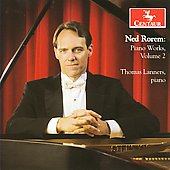 Rorem: Piano Works Vol 2 / Thomas Lanners