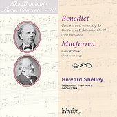 The Romantic Piano Concerto vol 48 - Benedict, Macfarren / Shelley, et al