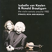 Violin Sonata Around 1900 / Van Keulen, et al