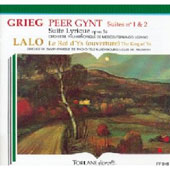 Grieg: Peer Gynt Suites Nos. 1 & 2; Suite Lyrique, Op. 54; Lalo: Le Roi d'Ys