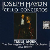 Joseph Haydn: Cello Concertos / Mork, Brown