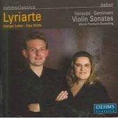 Veracini, Geminiani: Violin Sonatas