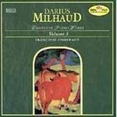 Darius Milhaud: Complete Piano Works, Volume 3