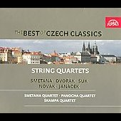 Best Of Czech Classics: String Quartets (Box)