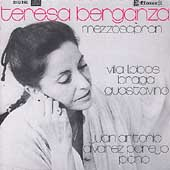 Teresa Berganza Sings South American Songs