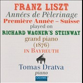 Liszt: Annees de Pelerinage / Tomas Dratva performing on Richard Wagner's Steinway