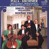 Fiala, Krommer: Oboe Quartets / Simon Fuchs, Novsak Trio