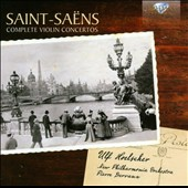 Saint-Saëns: Works for violin and orchestra / Ulf Hoelscher, violin