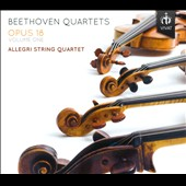 Beethoven: String Quartets, Op. 18, Nos. 3, 4 & 5 / Allegri String Quartet
