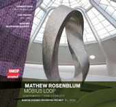 Matthew Rosenblum: Mobius Loop, music for saxophones / Kenneth Coon, sax; Lisa Pegher, percussion