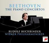 Beethoven: The 5 Piano Concertos / Rudolf Buchbinder, piano