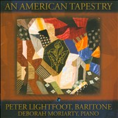 An American Tapestry - Songs by Dougherty, Niles, King / Peter Lightfoot, baritone; Deborah Moriarty, piano