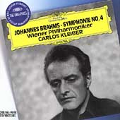 Brahms: Symphonie no 4 / Kleiber, Wiener Philharmoniker