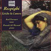 Respighi: Liriche da Camera / Everaert, Marmol