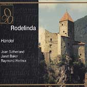 Handel: Rodelinda / Sutherland, Baker, Herincx, et al