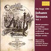 On Stage with Johann Strauss Vol 1 / Pollack, Slovak PO