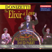 Opera in English - Donizetti: Elixir of Love / Parry, et al