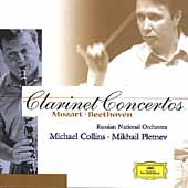 Mozart, Beethoven: Clarinet Concertos / Collins, Pletnev