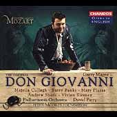 Opera in English - Mozart: Don Giovanni / Parry, et al