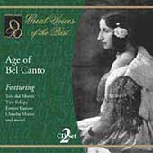 Great Voices of the Past - The Age of Bel Canto