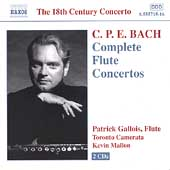 C.P.E. Bach: Complete Flute Concertos / Gallois, et al