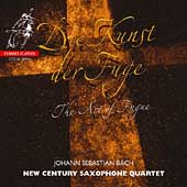 Bach: Art of the Fugue / New Century Saxophone Quartet