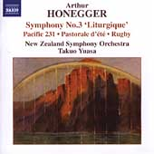 Honegger: Symphony no 3, etc / Yuasa, New Zealand SO
